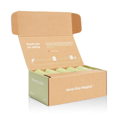225 Certified Compostable Bags on 15 Refill Rolls