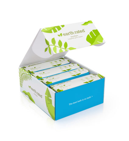 400 lingettes compostables