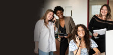 The 4 women behind our amazing customer service team, from left to right: Victoria, Marsha, Taylor and Vanessa